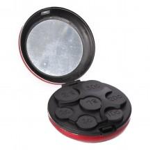Карманная монетница с зеркальцем «Жемчужина»