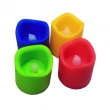 Светодиодные мини-свечи «LED Night Light Candle Color»