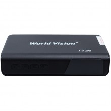 Эфирный цифровой ресивер World Vision T126