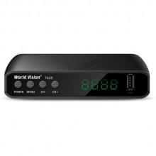 Эфирно-кабельный цифровой ресивер World Vision T62D