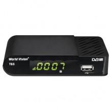 Эфирный цифровой ресивер World Vision T63