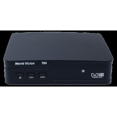 Эфирный цифровой ресивер World Vision T54