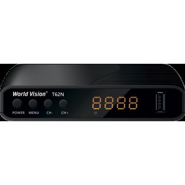 Эфирный цифровой ресивер World Vision T62N