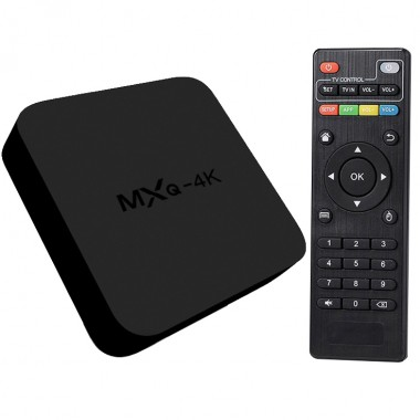 Мультимедийная приставка MXQ-4K OTT TV BOX ULTRA HD