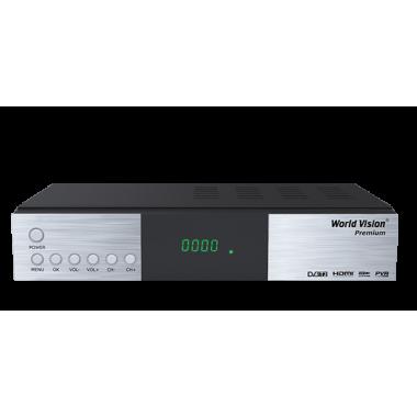 Эфирно-кабельный ресивер World Vision Premium