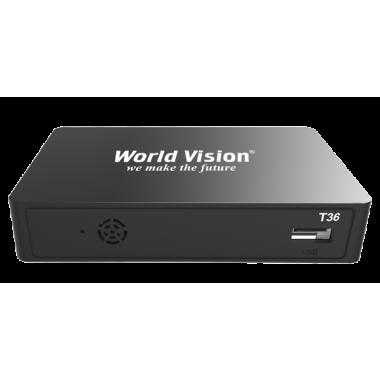 Цифровой эфирный приемник World Vision T36