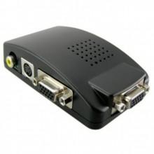 Видеоконвертер RCA-Video / S-Video / VGA ⇒ VGA