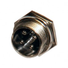 Разъём MIC 4P (шт.) на корпус металлический