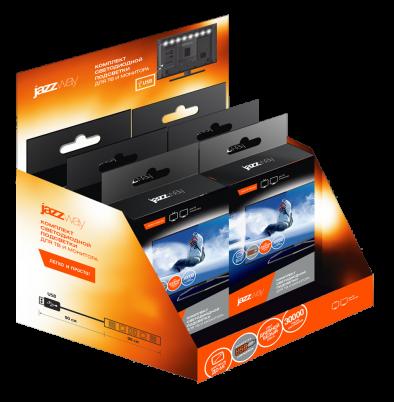JAZZWAY PLS-TV-USB 0.9 WH 5050/30 IP65 black PCB