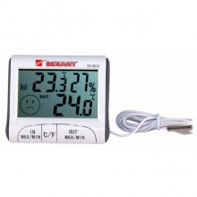 Термогигрометр REXANT 70-0515, комнатно-уличный