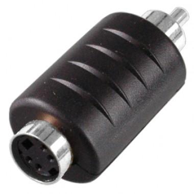 Переходник DIN 4 pin (гн.) — RCA (шт.)