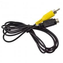 Шнур mini DIN 4 pin (S-VHS) - 1 RCA OD4.0мм 1.5м