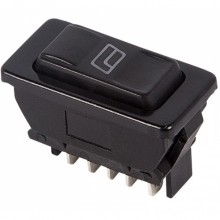 Выключатель клавишный ASW-02D 12V 20А (5с)