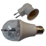 Вращающаяся диско-лампа «MINI LED FULL COLOR»