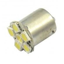 Автолампа светодиодная 1156 BA15S 6LED SMD5050 12V одноконтактная