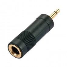 Переходник jack 6.35 мм (гн.) mono - mini jack 3.5 мм (шт.) mono