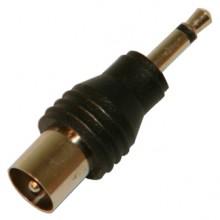 Переходник ТВ (шт.) - mini jack 3.5 мм (шт.)