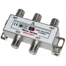 REXANT 4-way splitter 5-1000 МГц под f-разъём