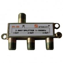 ARBACOM APA-202 3-way splitter 5-1000 МГц