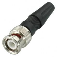 Разъем BNC (шт.) винтовой на кабель RG-58