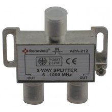 RONEWELL APA-212 2-way splitter 5-1000 МГц