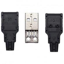 Разъём USB A (шт.), разборный