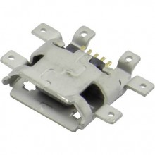 Разъём micro USB 47491-0001 (гн.), на плату