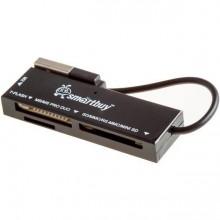 Универсальный картридер Smartbuy SBR-717-K