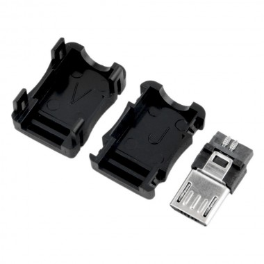 Разъём micro USB (шт.), разборный