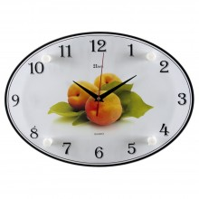 """Настенные часы 21 ВЕК 2434-664 """"Абрикосы"""""""