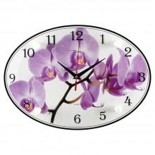 """Настенные часы 21 ВЕК 2434-1069 """"Орхидея"""""""