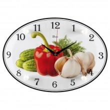 """Настенные часы 21 ВЕК 2434-125 """"Овощи"""""""