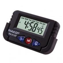 Автомобильные часы NAKO NA-613D с будильником