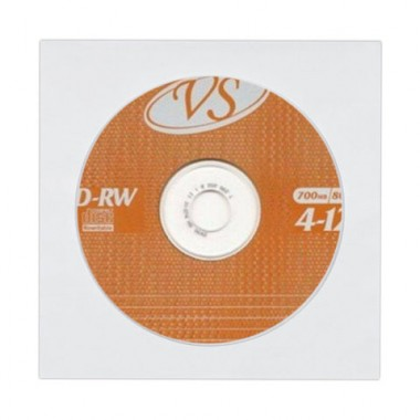 Компакт-диск VS CD-RW 700Mb 4х-12x (VSCDRWB5005)