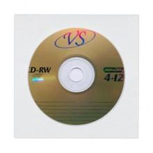 Компакт-диск VS CD-RW 700Mb 4х-12x (VSCDRWB5003)