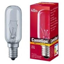 Лампа накаливания CAMELION MIC 40-T25-CL-E14