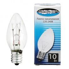 Лампа накаливания РОСА-СВ 220-240В 10Вт E12