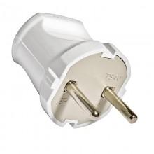 Вилка кабельная UNIVERSAL А113, белая