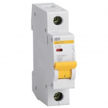 Выключатель автоматический IEK ВА47-29 MVA20-1-016-C