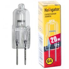 Галогенная лампа NAVIGATOR NH-JC-20-12-G4-CL