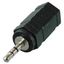 Переходник micro jack 2.5 мм (шт.) — mini jack 3.5 мм (гн.) stereo