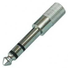 Переходник micro jack 2.5 мм (гн.) — jack 6.35 мм (шт.) stereo