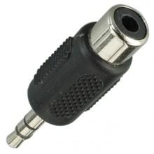 Переходник micro jack 2.5 мм (шт.) stereo — RCA (гн.)