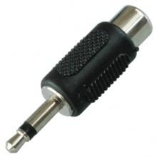 Переходник mini jack 3.5 мм (шт.) mono — RCA (гн.)