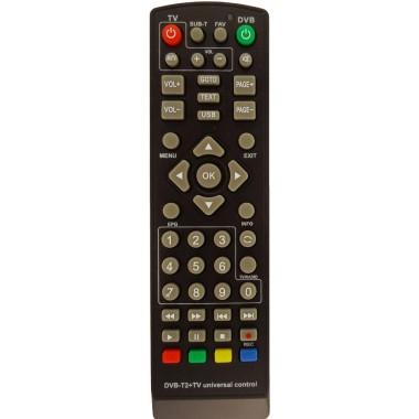 Пульт для цифровых приставок  DVB-T/DVB-T2+TV