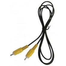 Шнур 1 RCA - 1 RCA OD4.0мм 1.5м