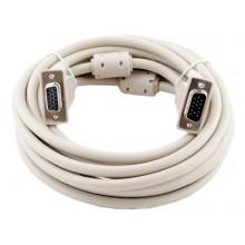Шнур VGA (HD 15 Pin) - VGA (HD 15 Pin) OD8.0мм 3.0м позолоченный