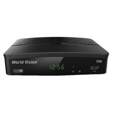 Эфирный цифровой ресивер World Vision T55