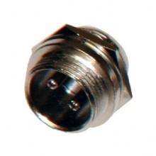 Разъём MIC 2P (шт.) на корпус металлический
