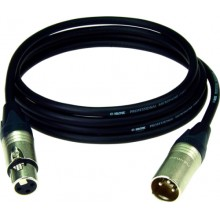 Шнур XLR - XLR OD7.0мм 1.5м с позолоченными контактами